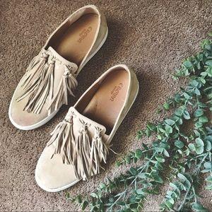 Crown Vintage Tassel Slip On Sneaker
